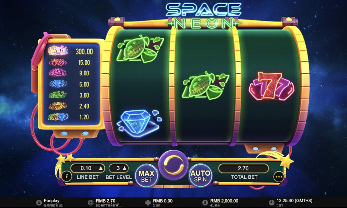 Space Neon 777
